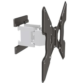 Super slim full motion aluminium TV wall mount, SLIMLINE-400