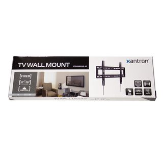 Fixed tv wall mount with click in spring, STRONGLINE-42