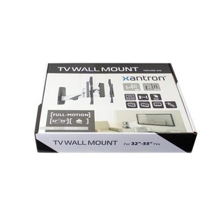 Aluminum full-motion TV wall mount, TOPLINE-442S