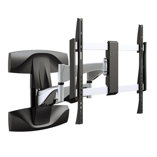Aluminum full-motion double arm TV wall mount, TOPLINE-464-S
