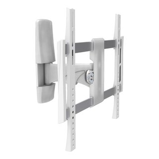Aluminum swiveling TV wall mount white 32-55, TOPLINE-441-S